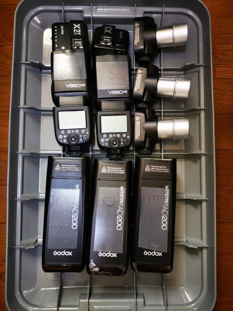 Godox V860IIS / AD200 / X1TS / X2TS
